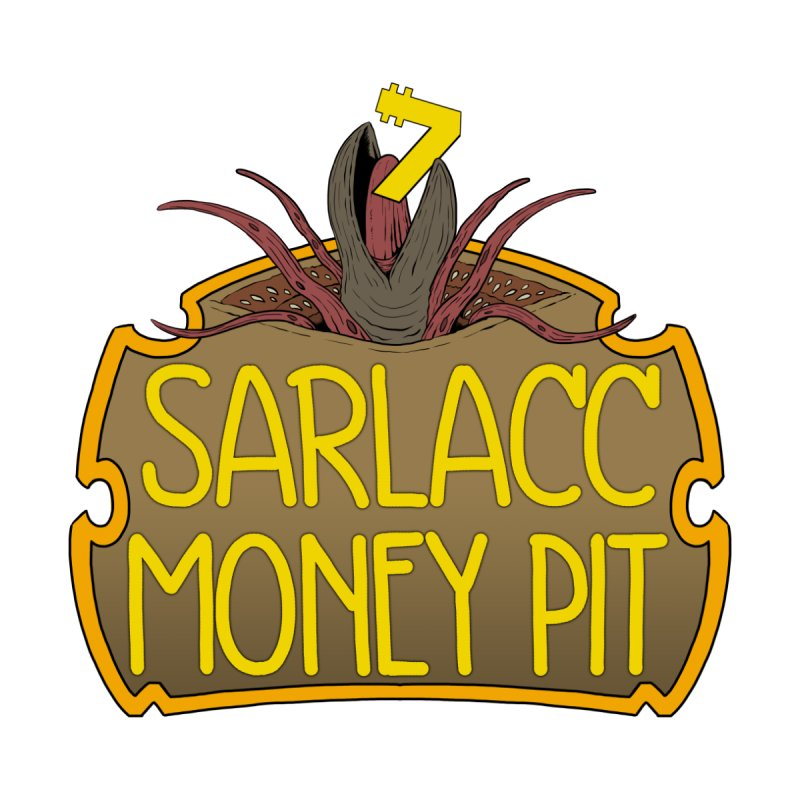 Sarlacc Money Pit Men's T-Shirt by 8bit Geek's Artist Shop