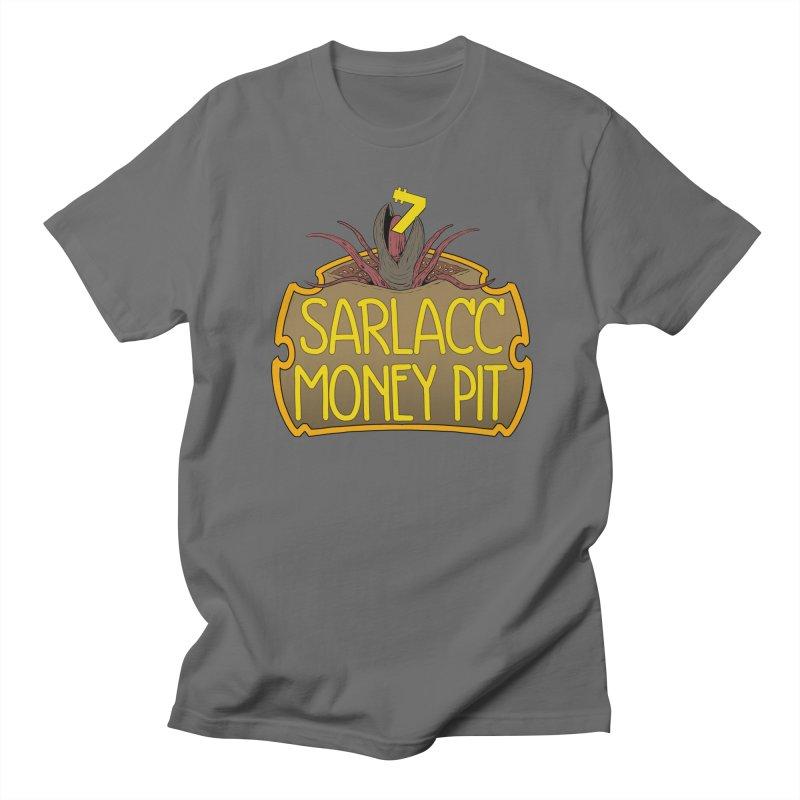 Sarlacc Money Pit Men's T-Shirt by 8bit Geek's Artist Shop