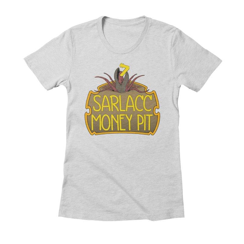 Sarlacc Money Pit Women's Fitted T-Shirt by 8bitgeek's Artist Shop
