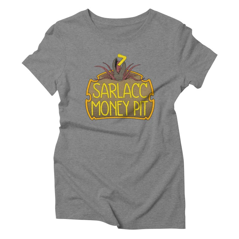 Sarlacc Money Pit Women's Triblend T-Shirt by 8bitgeek's Artist Shop