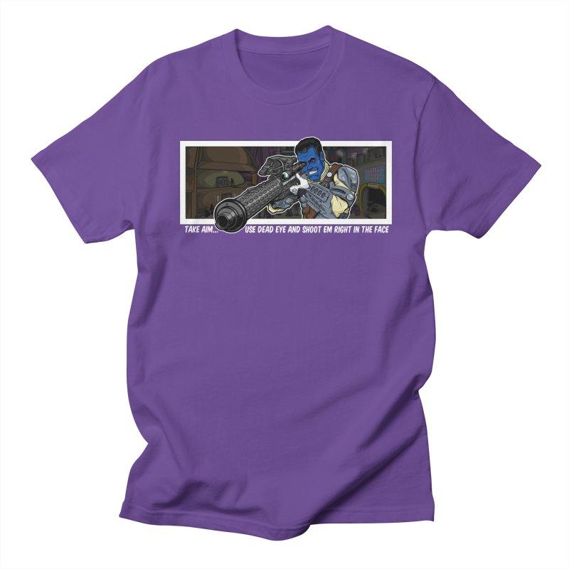 Take Aim Men's T-Shirt by 8bitgeek's Artist Shop