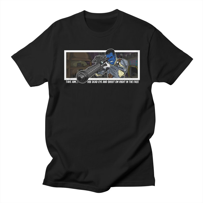 Take Aim Men's T-Shirt by 8bit Geek's Artist Shop