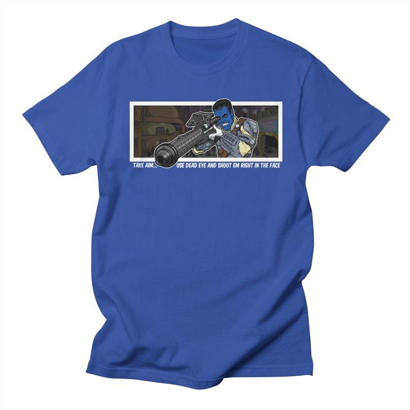 Take Aim Men's Regular T-Shirt by 8bit Geek's Artist Shop