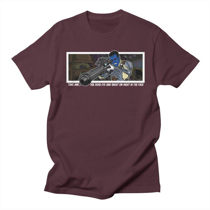 Take Aim Men's T-Shirt by 8bit Geek's Artist Shop