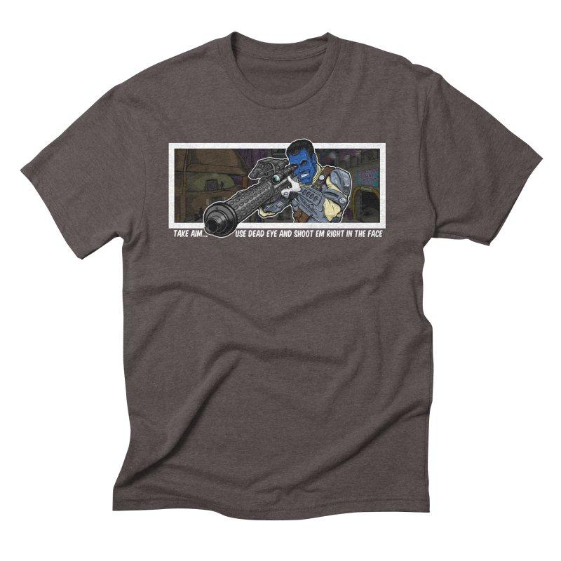 Take Aim Men's Triblend T-Shirt by 8bitgeek's Artist Shop