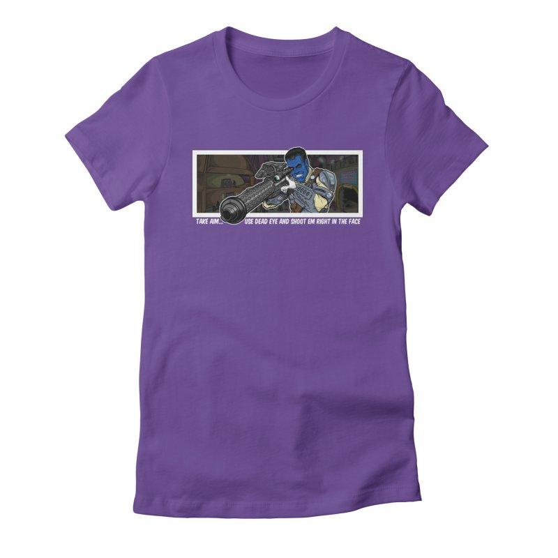 Take Aim Women's T-Shirt by 8bit Geek's Artist Shop