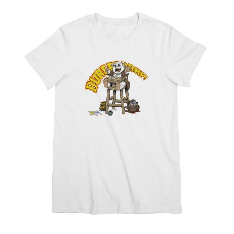 Dinner Time Women's Premium T-Shirt by 8bit Geek's Artist Shop