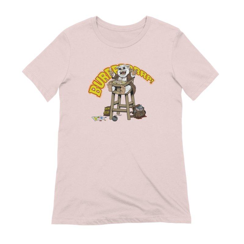 Dinner Time Women's Extra Soft T-Shirt by 8bit Geek's Artist Shop