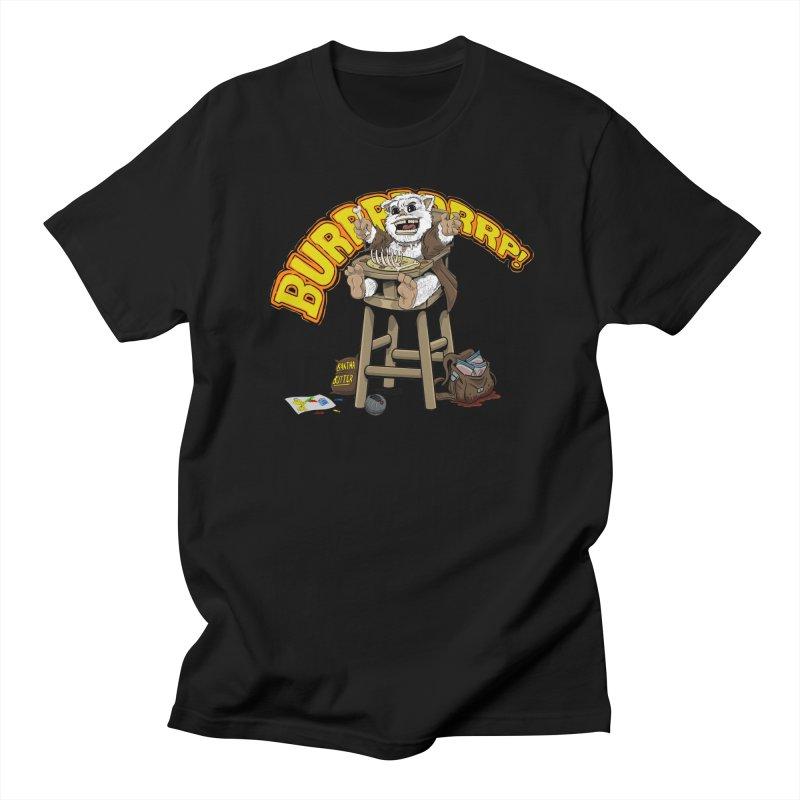 Dinner Time Men's Regular T-Shirt by 8bit Geek's Artist Shop