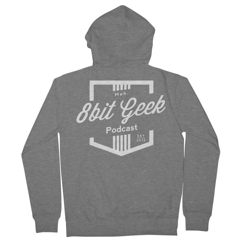 Pocket Men's French Terry Zip-Up Hoody by 8bit Geek's Artist Shop