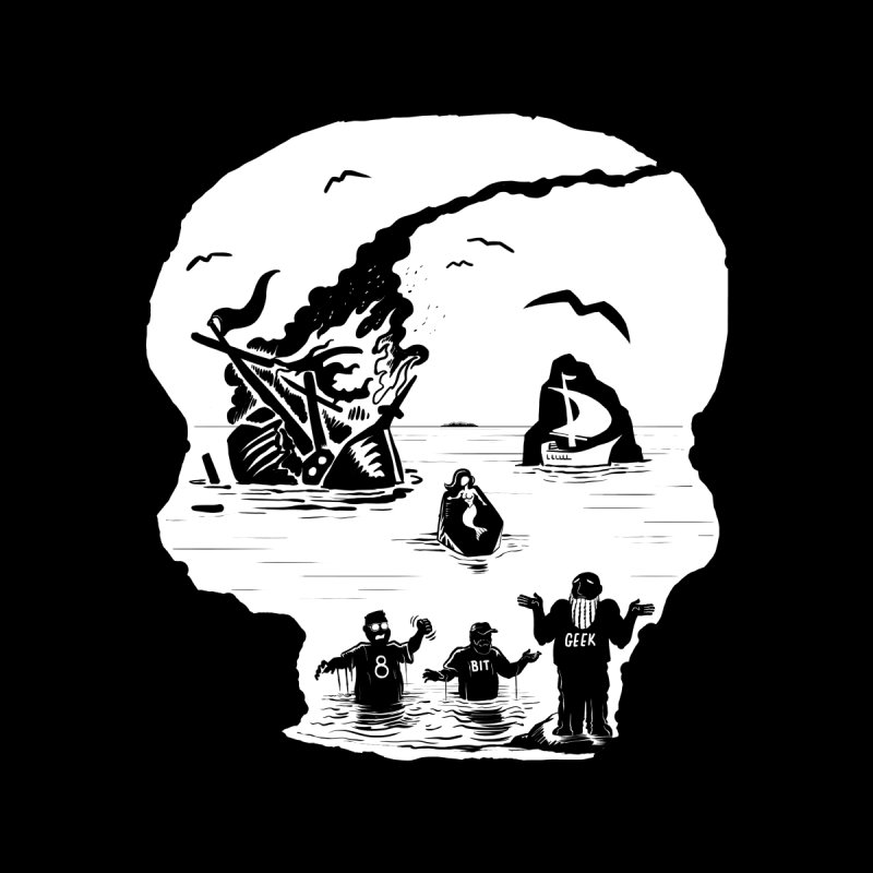 Sea of Grieves Women's T-Shirt by 8bit Geek's Artist Shop