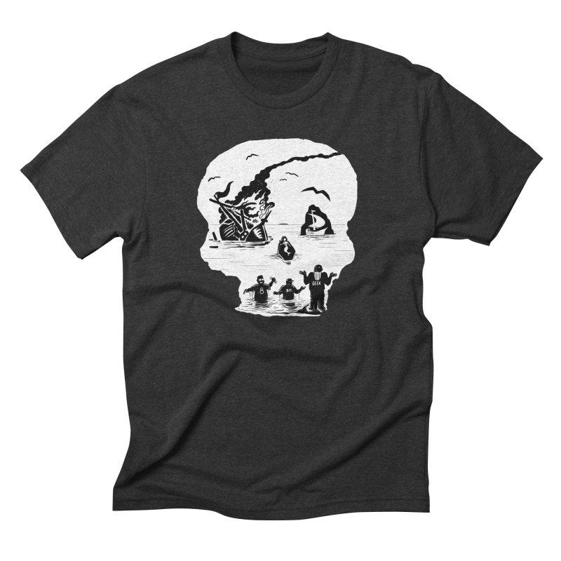 Sea of Grieves Men's T-Shirt by 8bit Geek's Artist Shop