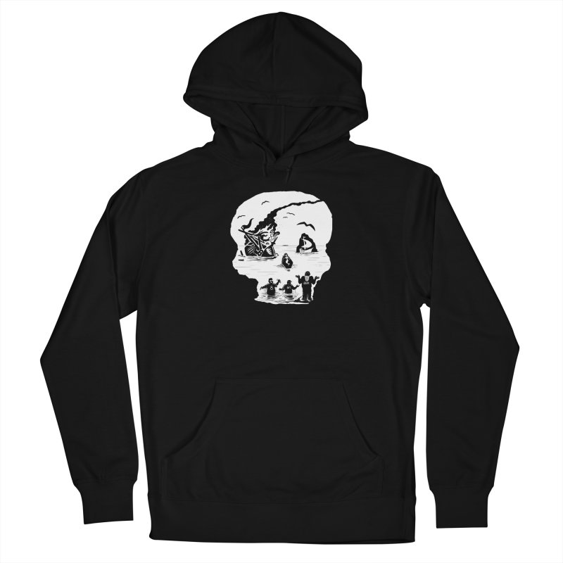 Sea of Grieves Men's Pullover Hoody by 8bit Geek's Artist Shop