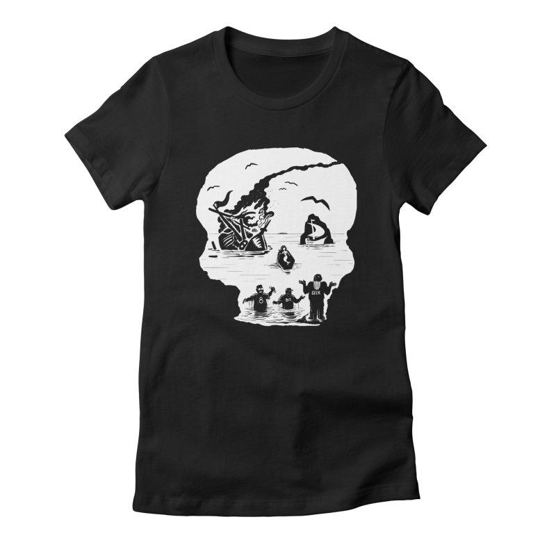 Sea of Grieves Women's T-Shirt by 8bit Geek's Artist Shop