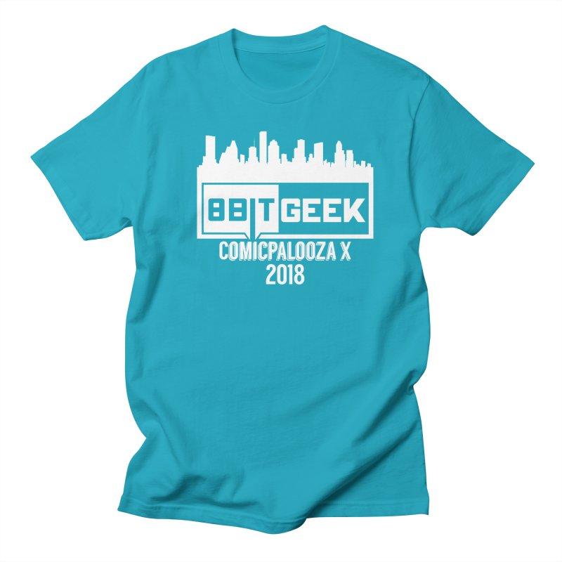 Comicpalooza 2018 Men's T-Shirt by 8bitgeek's Artist Shop