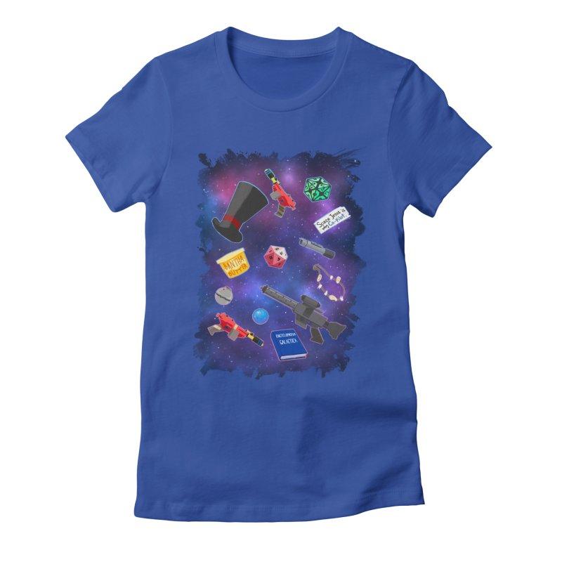 Saga Swag Women's Fitted T-Shirt by 8bit Geek's Artist Shop