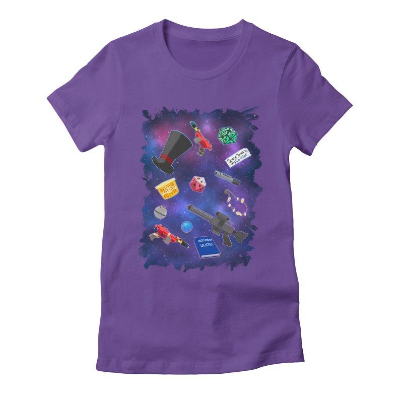 Saga Swag Women's Fitted T-Shirt by 8bitgeek's Artist Shop