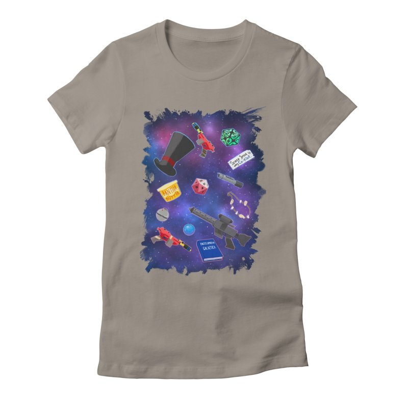 Saga Swag Women's Fitted T-Shirt by 8bit Geek's Artist Shop