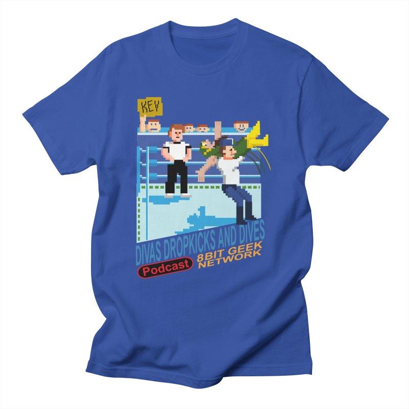 3DNES Men's T-Shirt by 8bit Geek's Artist Shop