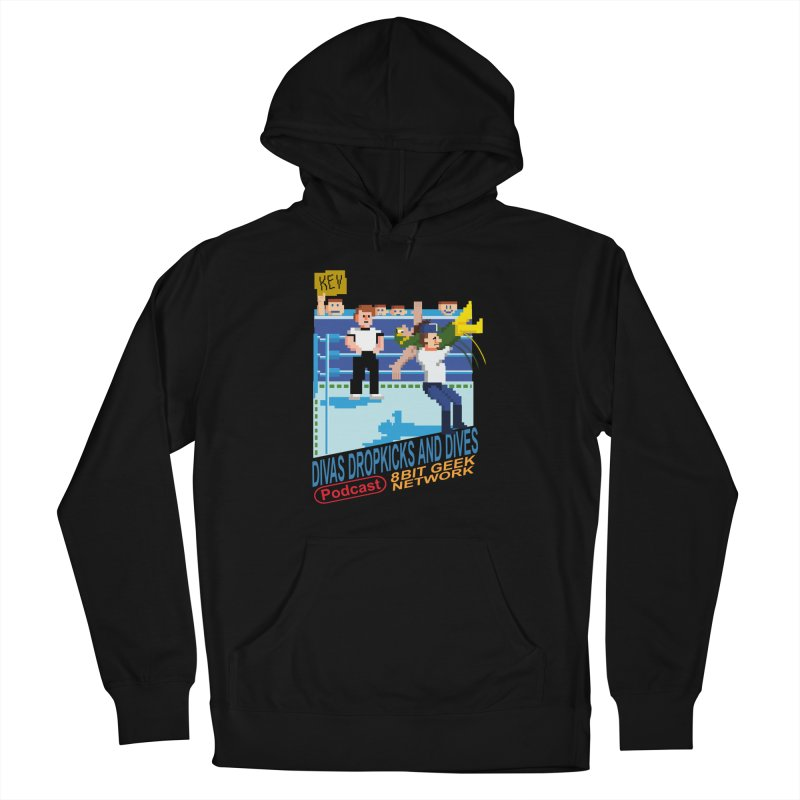 3DNES Men's Pullover Hoody by 8bit Geek's Artist Shop