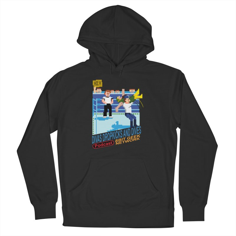3DNES Men's Pullover Hoody by 8bit Geek's Artist Shop