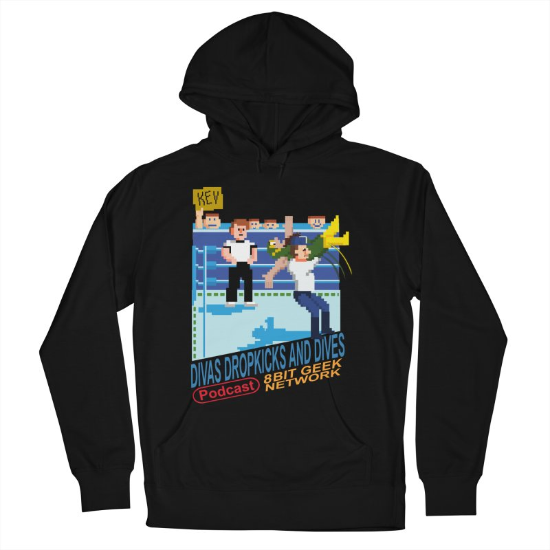 3DNES Men's French Terry Pullover Hoody by 8bit Geek's Artist Shop