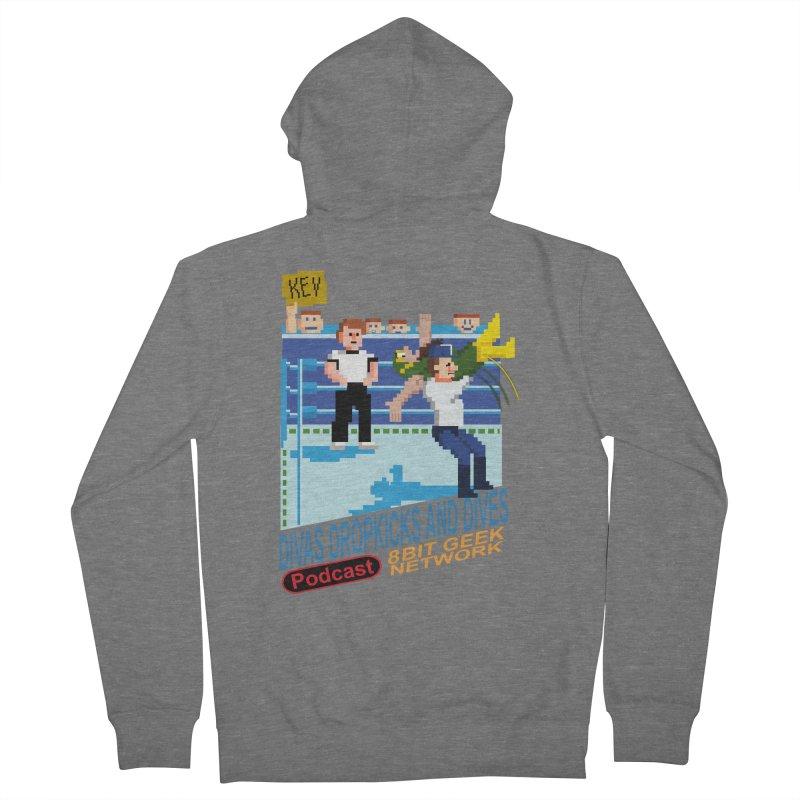 3DNES Women's Zip-Up Hoody by 8bit Geek's Artist Shop