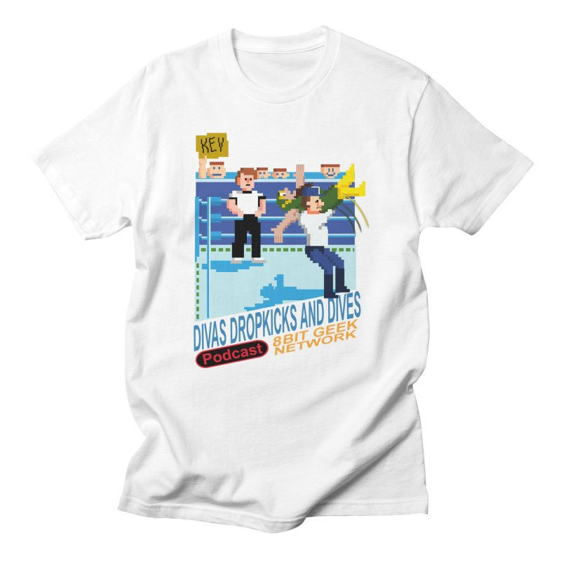 3DNES Men's T-Shirt by 8bit Geek's Artist Shop