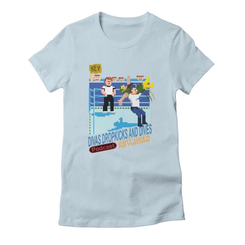 3DNES Women's T-Shirt by 8bit Geek's Artist Shop