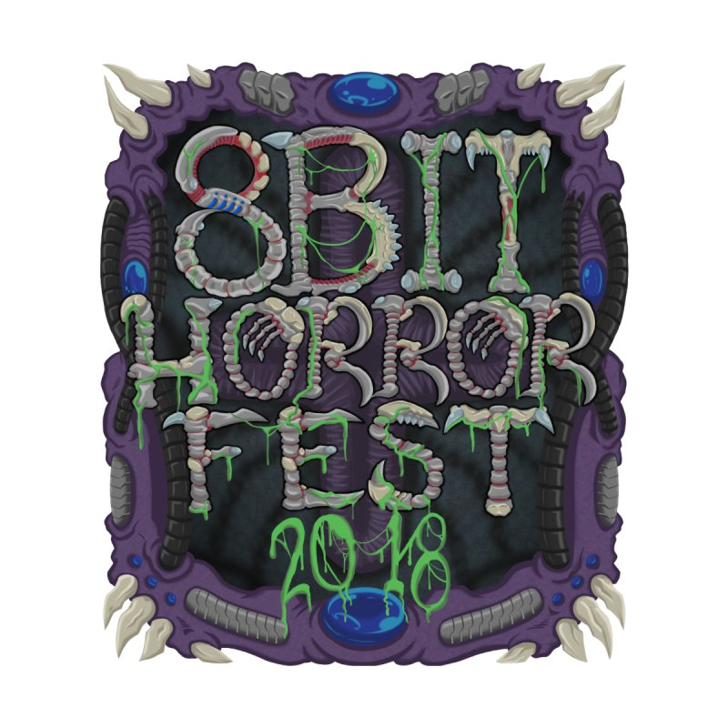 8bit Horrorfest 2018 Men's T-Shirt by 8bit Geek's Artist Shop