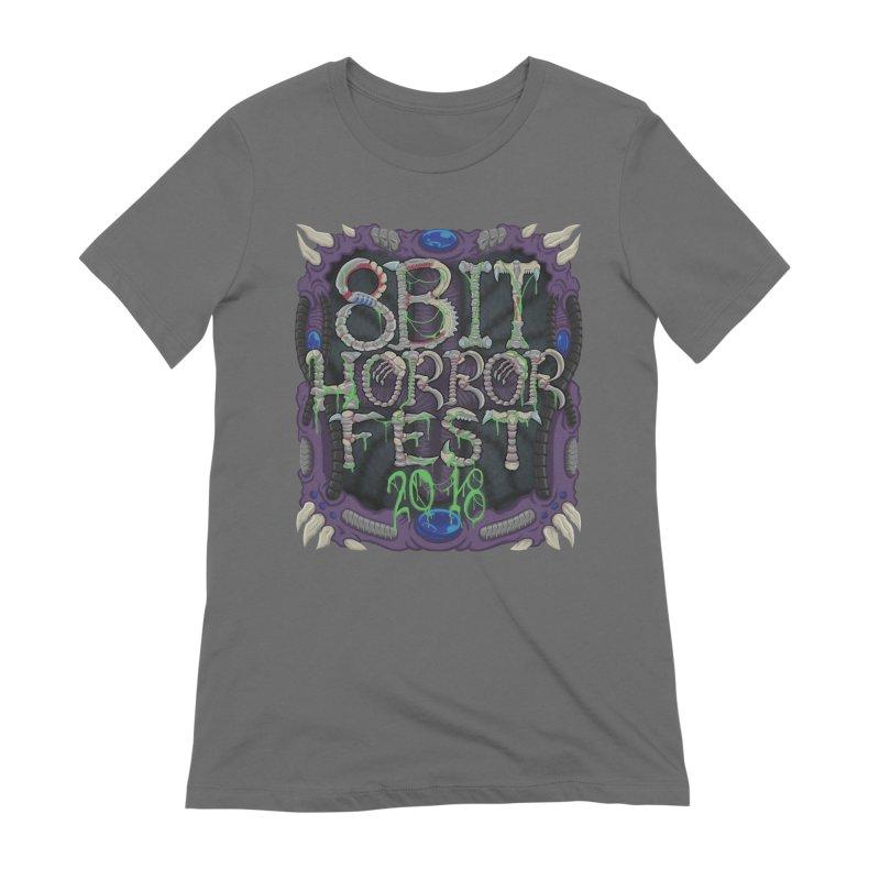 8bit Horrorfest 2018 Women's Extra Soft T-Shirt by 8bit Geek's Artist Shop