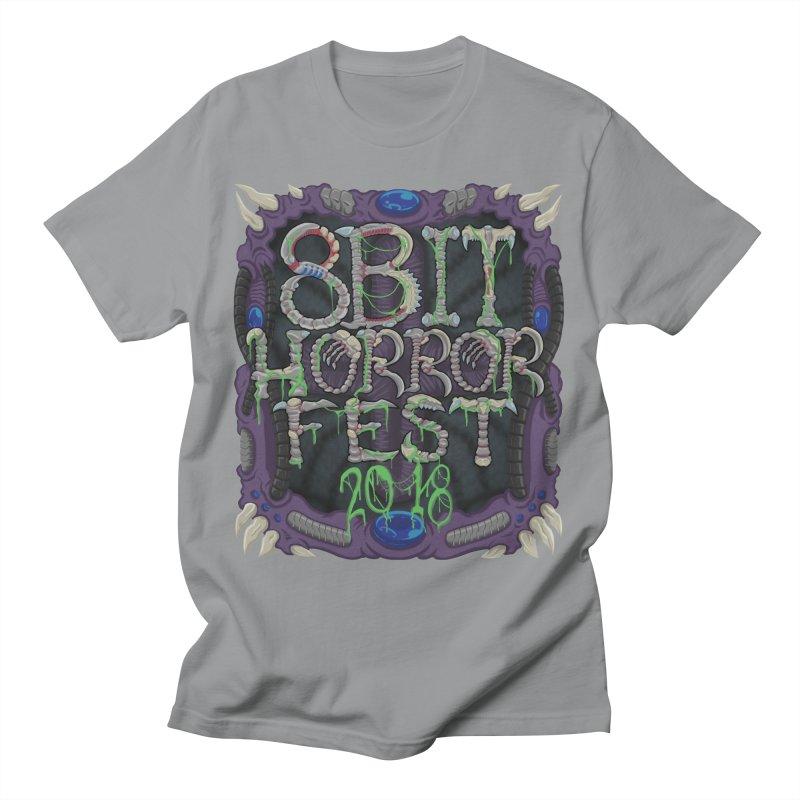 8bit Horrorfest 2018 Men's T-Shirt by 8bit Geek's Artist Shop