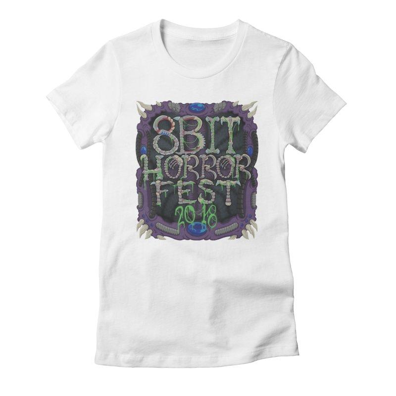 8bit Horrorfest 2018 Women's T-Shirt by 8bit Geek's Artist Shop