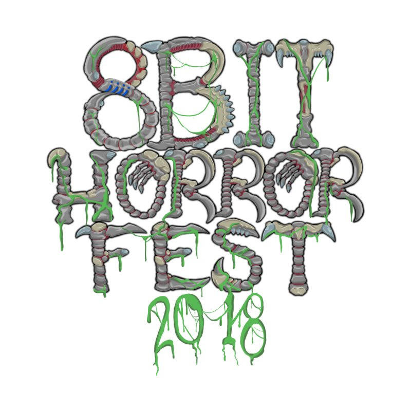 8bit Horrorfest 2018 Letters Women's T-Shirt by 8bit Geek's Artist Shop
