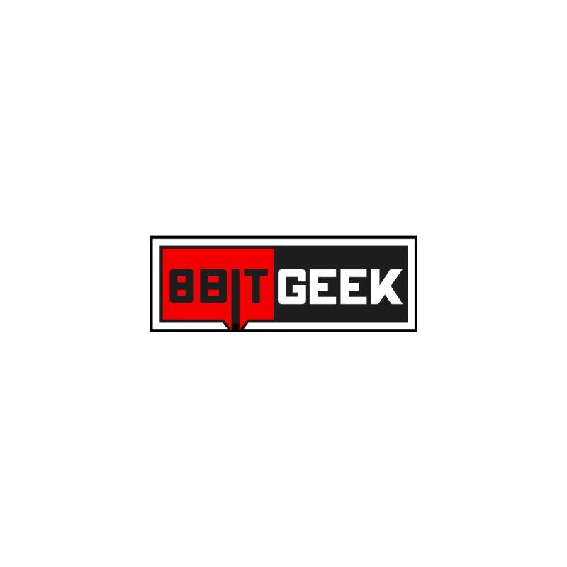 8bit Geek Dark Sticker by 8bit Geek's Artist Shop