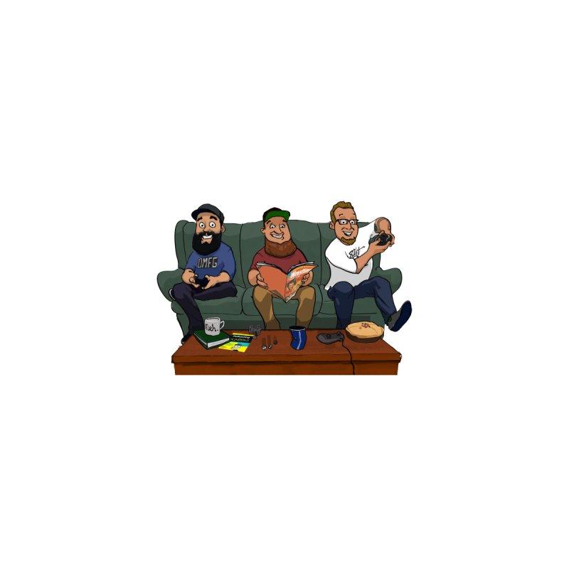 8bit Crew Sticker by 8bit Geek's Artist Shop