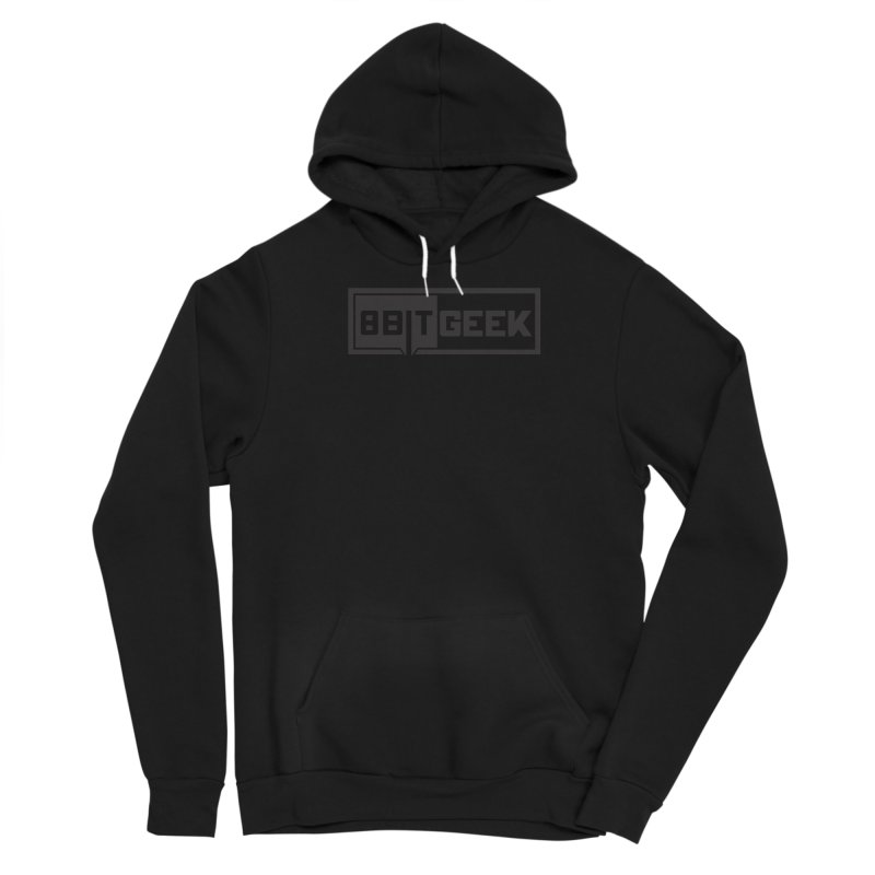 Black out Men's Pullover Hoody by 8bit Geek's Artist Shop