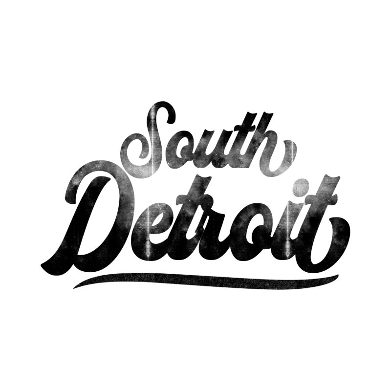 South Detroit Men's Longsleeve T-Shirt by 8bit Geek's Artist Shop