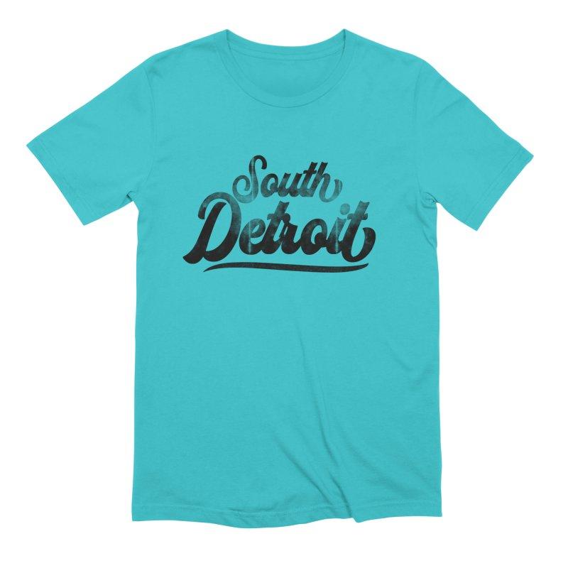 South Detroit Men's Extra Soft T-Shirt by 8bit Geek's Artist Shop