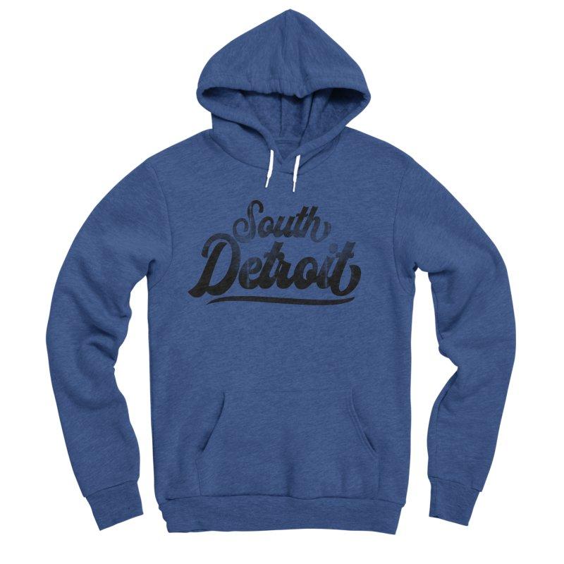 South Detroit Men's Sponge Fleece Pullover Hoody by 8bit Geek's Artist Shop