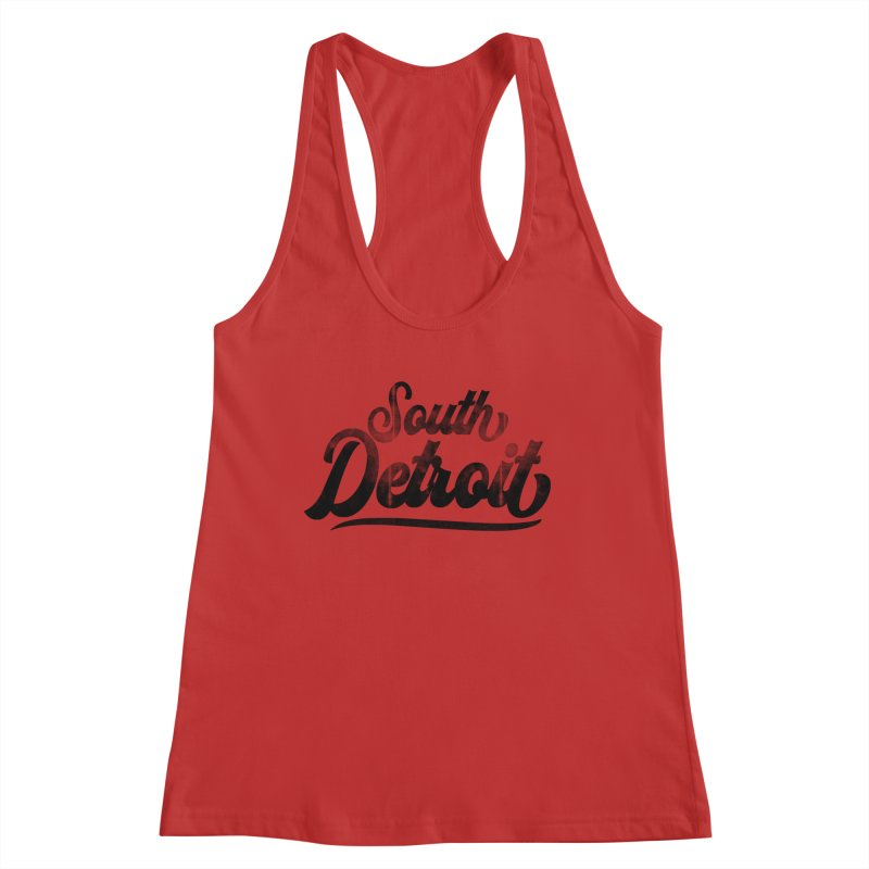 South Detroit Women's Tank by 8bit Geek's Artist Shop