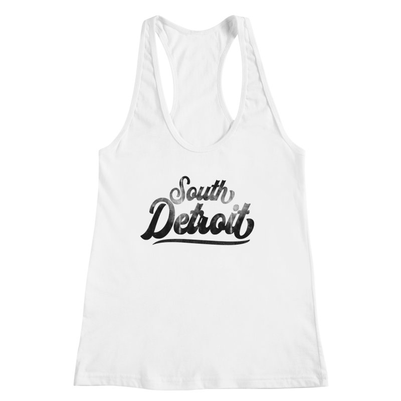 South Detroit Women's Tank by 8bit Geek's Artist Shop