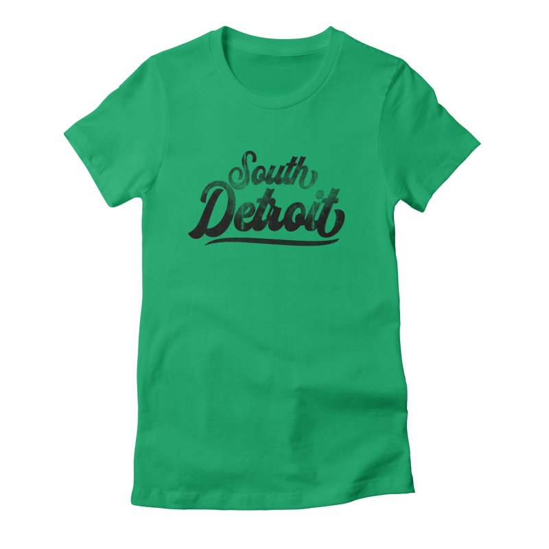 South Detroit Women's T-Shirt by 8bit Geek's Artist Shop