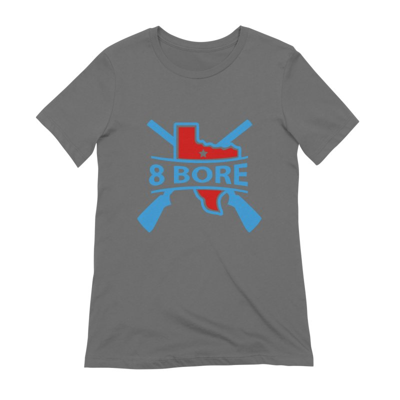"""8  Bore """"Crossed Arms"""" Logo Women's T-Shirt by"""