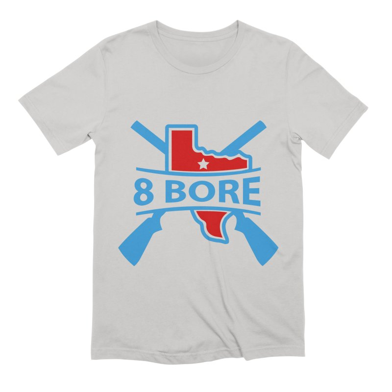 "8  Bore ""Crossed Arms"" Logo Men's T-Shirt by"