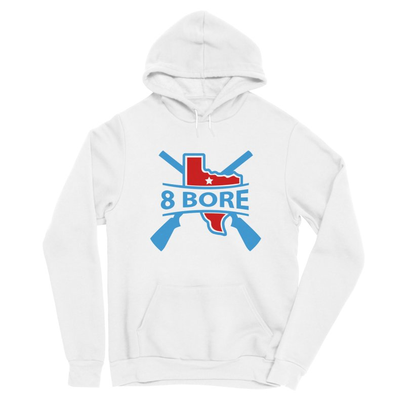 "8  Bore ""Crossed Arms"" Logo Men's Pullover Hoody by"