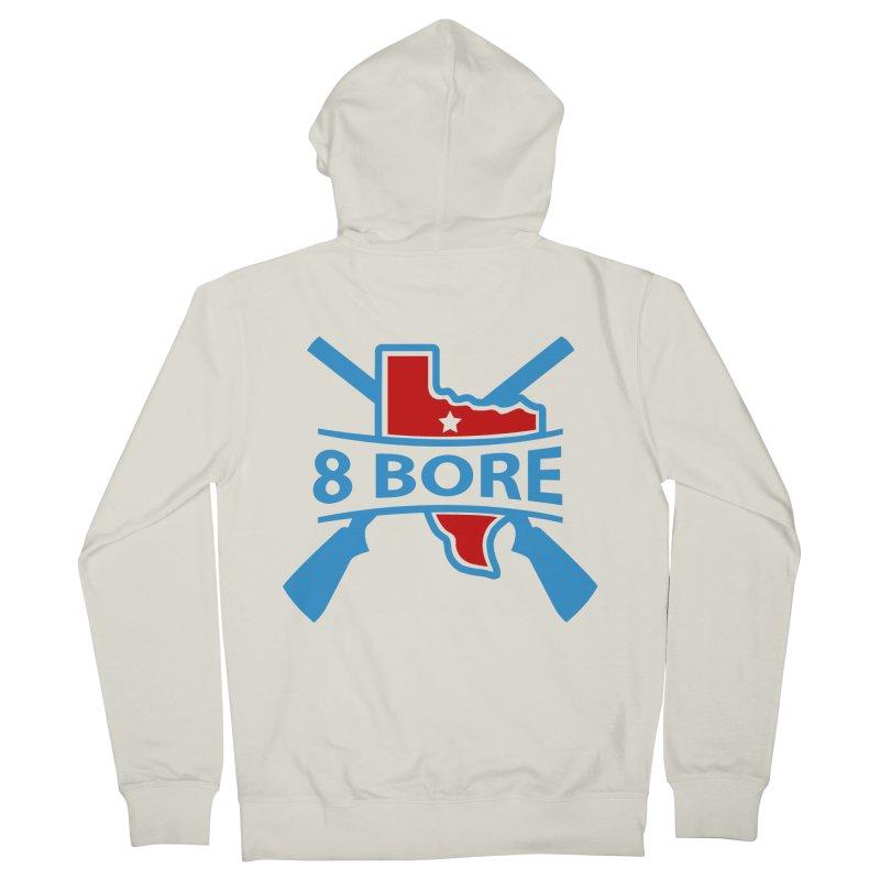 """8  Bore """"Crossed Arms"""" Logo Men's Zip-Up Hoody by"""