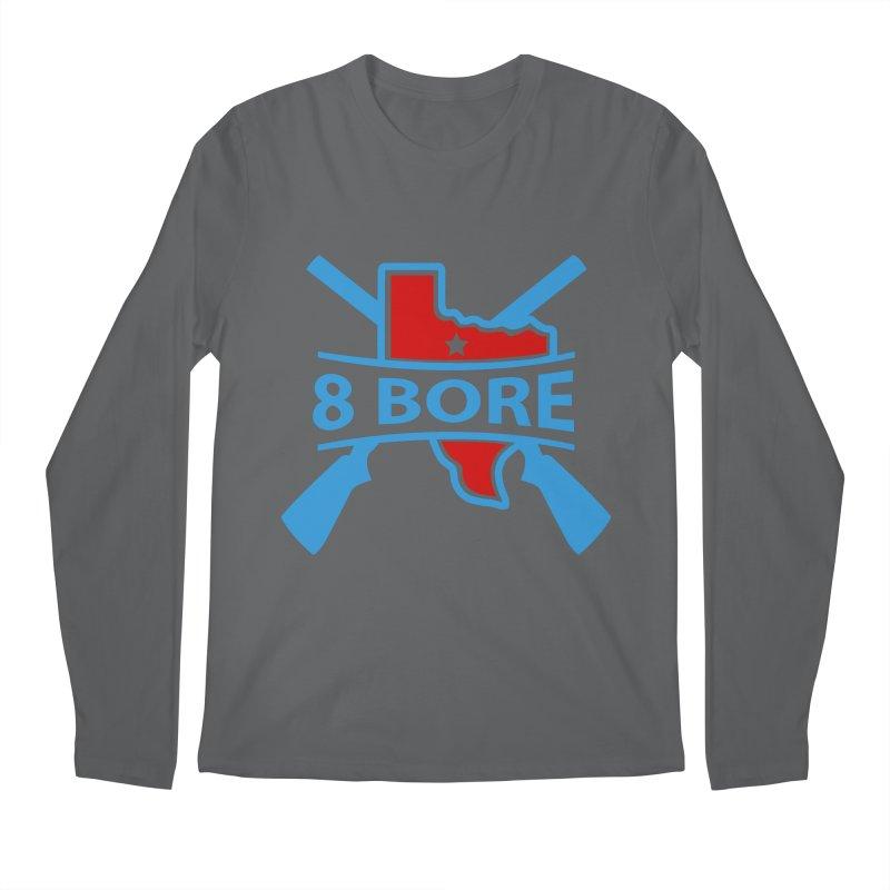 "8  Bore ""Crossed Arms"" Logo Men's Longsleeve T-Shirt by"