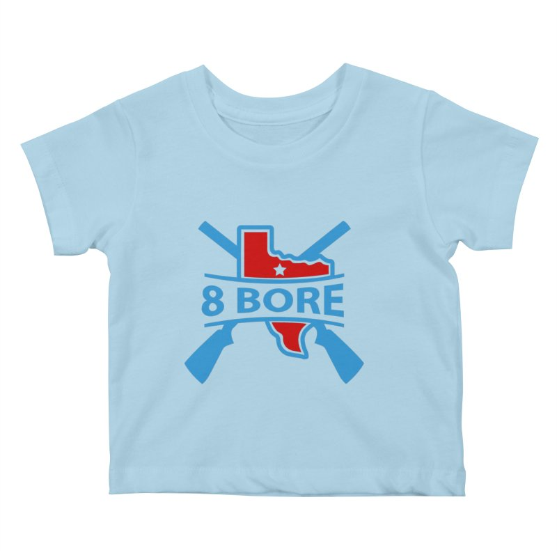 """8  Bore """"Crossed Arms"""" Logo Kids Baby T-Shirt by"""