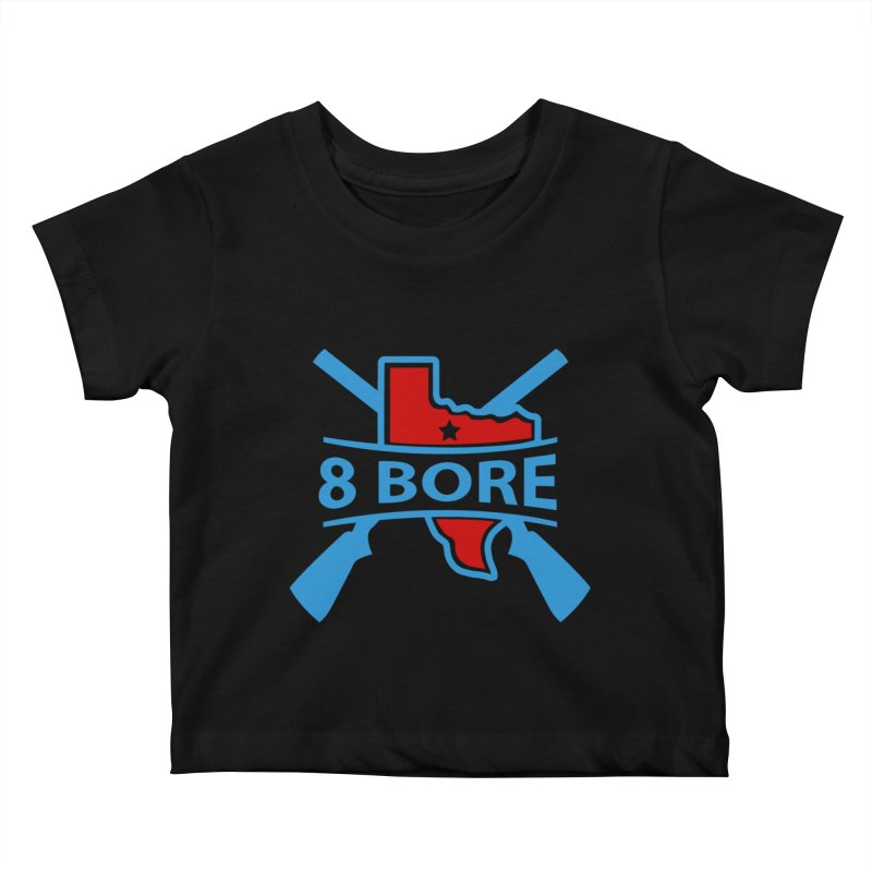 "8  Bore ""Crossed Arms"" Logo Kids Baby T-Shirt by"